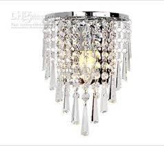 incredible 2018 85 265v wall lamp crystal chandelier free with a 3w e14 led chandelier wall lamp ideas
