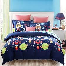 glamorous full size childrens bed kids bedroom furniture sets bedding outer space pattern elegant