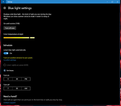 Blue Light Filter Program Microsoft Updates Windows 10s Blue Light Filter Promises