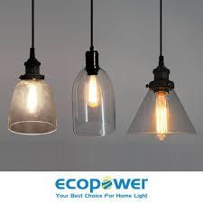 vintage primitive glass ceiling lamp household pendant light fixture
