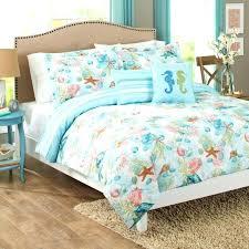 beach bed sheets beach blue ocean skyline bedding set twin queen bed
