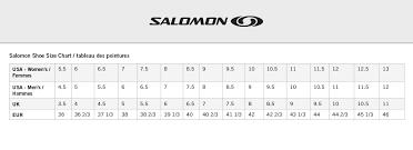 Salomon Running Shoes Size Chart Salomon Womens Speedcross 5 Gtx Running Shoe