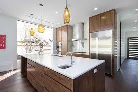 Chicago modern kitchen with quartz countertops Super White Countertops