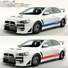<b>TAIYAO car styling sport</b> car sticker for Mitsubishi Lancer Evolution ...