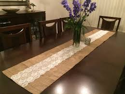 image of best burlap table runners