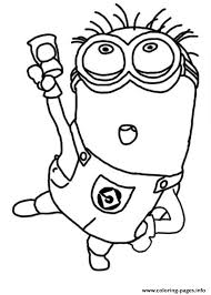 Small Picture Jerry Dance The Minion Coloring Page Coloring pages Printable