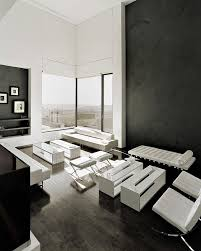 black and white living room black white interior design