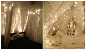 string lighting for bedrooms. 23 Amazing Canopies With String Lights Ideas Lighting For Bedrooms I