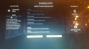 Can't gain rep with Suda for some reason - see below : Warframe