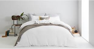brisa 100 linen bed set super king white uk bedding sets linen bed bath made com