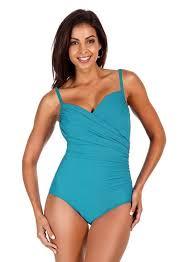 Trimshaper Size Chart Trimshaper D Cup Solid Captiva Underwire One Piece Swimsuit