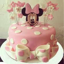 Minnie Mouse Fondant Cake Winni