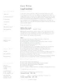 Secretary Resume Templates New Medical Secretary Resume Sample Medical Secretary Resume Samples