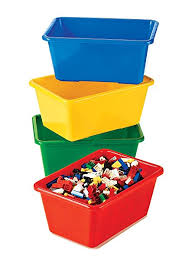 small storage bins. Brilliant Storage Tot Tutors Kidsu0027 Primary Colors Small Storage Bins  Intended Bins C