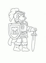 Kleurplaat Ridder Sprookjes Algemeen 人物 Regarding Prinses