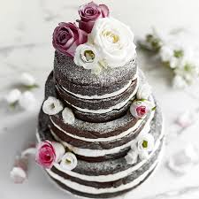 Three Tier Chocolate Wedding Cake Baking Mad