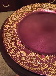 charger plates decorative: charger plate henna plate https wwwetsycom listing