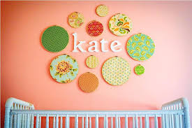 baby girl nursery wall decorations art
