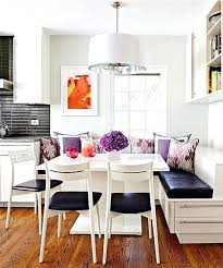 built in kitchen table the perfect kitchen seating area complete with clean lines grey walls and