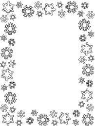 Sneeuwvlokken Lijst Kleurplaat Gratis Kleurplaten Printen