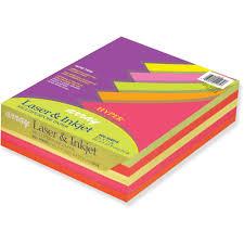 Pacon Bond Paper Bright Assorted 500 Ream Quantity Walmart Com