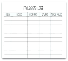 Mileage Log Template Gallery Of Book Fresh Fuel Tracker