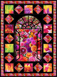 Stained Glass Quilt Pattern Extraordinary Quilt Inspiration Free Pattern Day Stained Glass Quilts