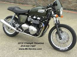 triumph thruxton 900 for sale triumph motorcycles cycletrader com