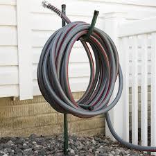garden hose stakes. amazon.com : stalwart in the ground hose management bracket 50\u0027 capacity garden \u0026 outdoor stakes