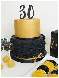 black gold dessert table