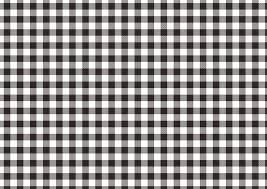 フリーイラスト 白黒のギンガムチェックの背景 パブリックドメインq