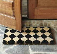 Designer Front Door Mats Rubber Door Mat Style | Home Interior ...