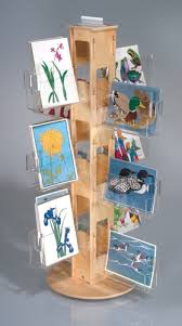 Second Hand Greeting Card Display Stand Interesting Greeting Card Holders Rack And Displays From Clear Solutions