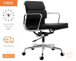 eames office chair replica. Eames Office Chair Replica 8 Aluminum Group Style Softpad Management 181.jpg E