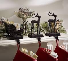 Santa39s Sleigh Stocking Holders Pottery Barn