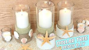 candle holders centerpieces dollar tree beach centerpiece tutorial holder themed c beach candle votive decor holder