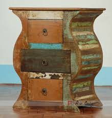 recycled wooden furniture. Bedside Recycled Wooden Furniture R