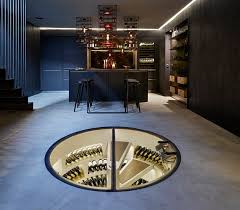 Drink deep: A seriously sumptuous wine cellar created by the company Spiral  Cellars