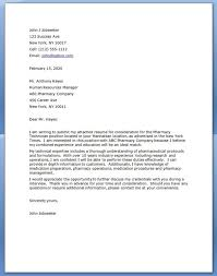 Pharmacy Tech Cover Letter No Experience Pharmacy Technician No Experience Cover Letter Pharmacy Tech