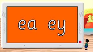 Worksheet for (very) young learners who have just started reading. Phonics The Ea Ey Spelling Free Resource Youtube