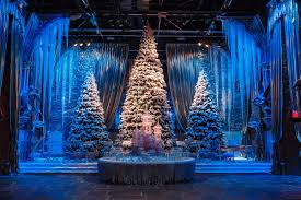 Yule Ball Decorations Hogwarts in the Snow Warner Bros Studio Tour London 52