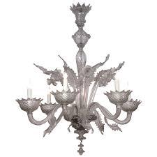 vintage murano chandelier