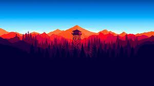 Minimalist Desktop Wallpaper Mountains