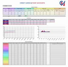 Credit Card Tracker Excel Excel Credit Cards And Points Tracker Spreadsheet Capital Matters