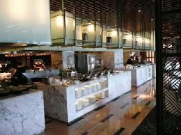 Open kitchen in the restaurant Picture of Ningbo Marriott Hotel