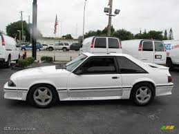 Oxford White 1992 Ford Mustang GT Coupe Exterior Photo #39830490 ...