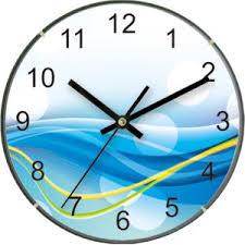 "<b>Часы</b> настенные IRIT IR-630 ""Волны"", кварцевые, диаметр 25 см ..."