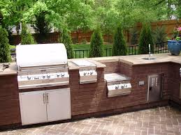 Small Outdoor Kitchen Island Kitchen Excellent Outdoor Kitchen With Lounge Dining Ideas Bull