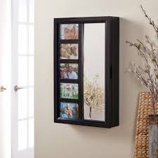 best indoor arrangement with mirror jewelry armoire