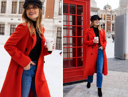 trends sites and big name bloggers have been rocking red head to toe and while an entire rouge ensemble seems a bit too much for my day to day life